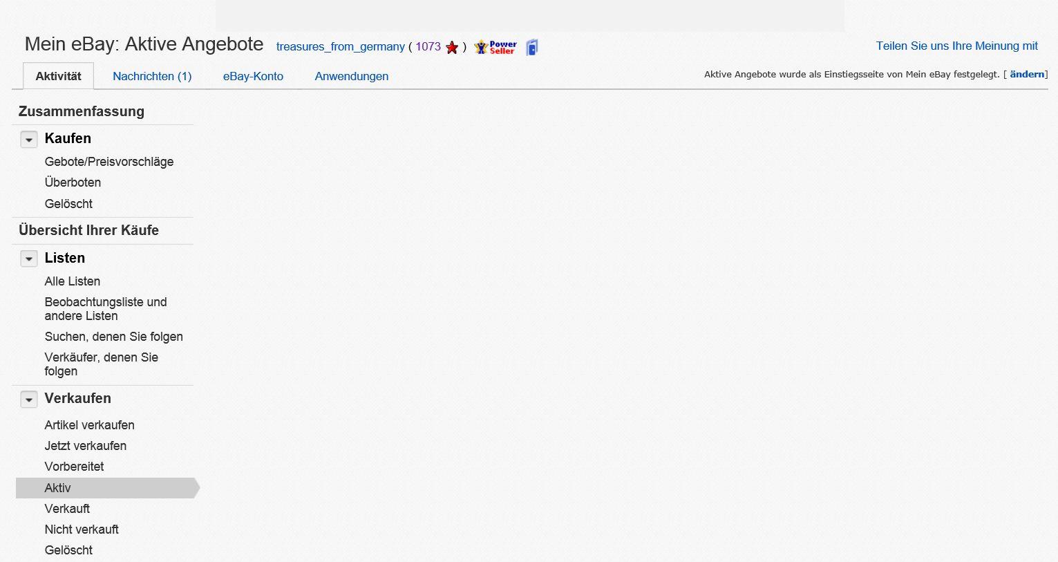 Betreff Mein Ebay Startseite Unter Windows 81 Ebay Community