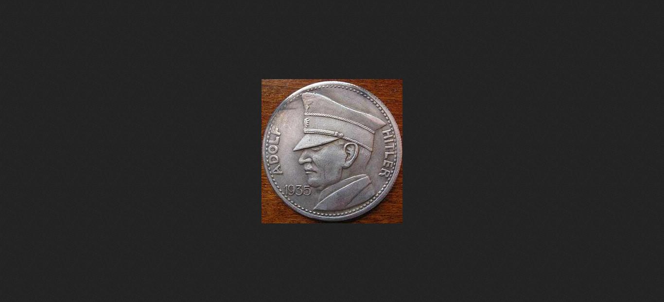 Münze Mit Bild Von Adolf Hitler Ebay Community