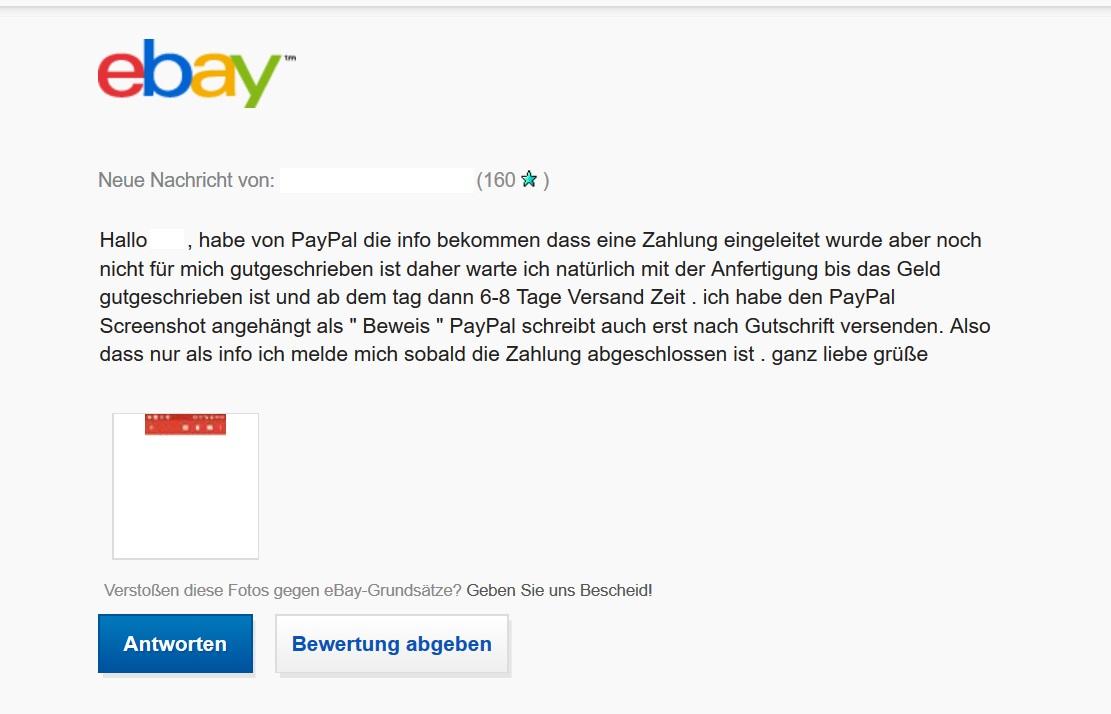 Paypal Zahlung Geht Nicht Mehr