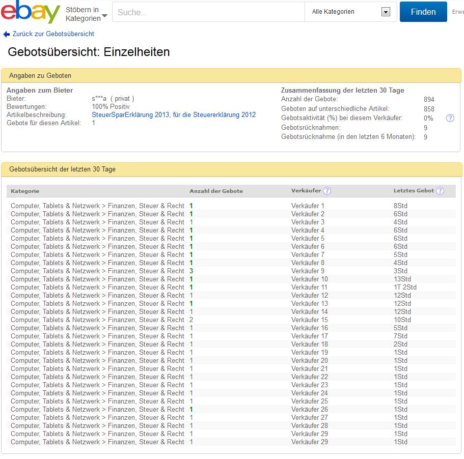 Ebay Angebot Melden