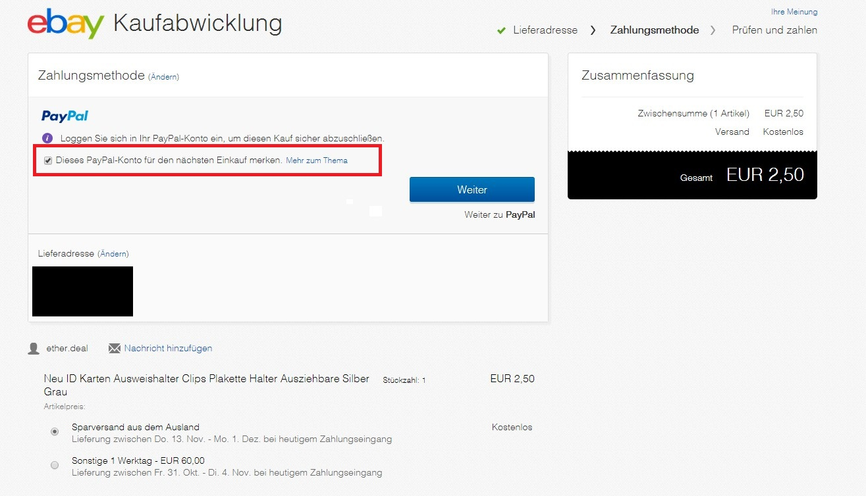 Paypal ebay funktioniert nicht