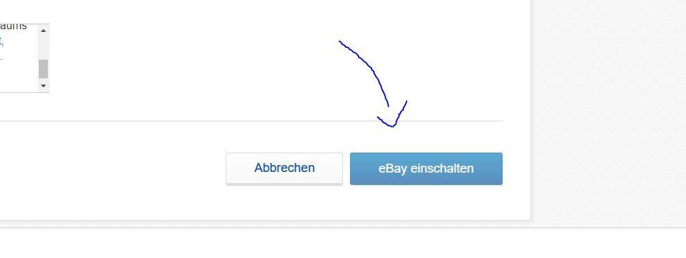 Ebay Einschalten