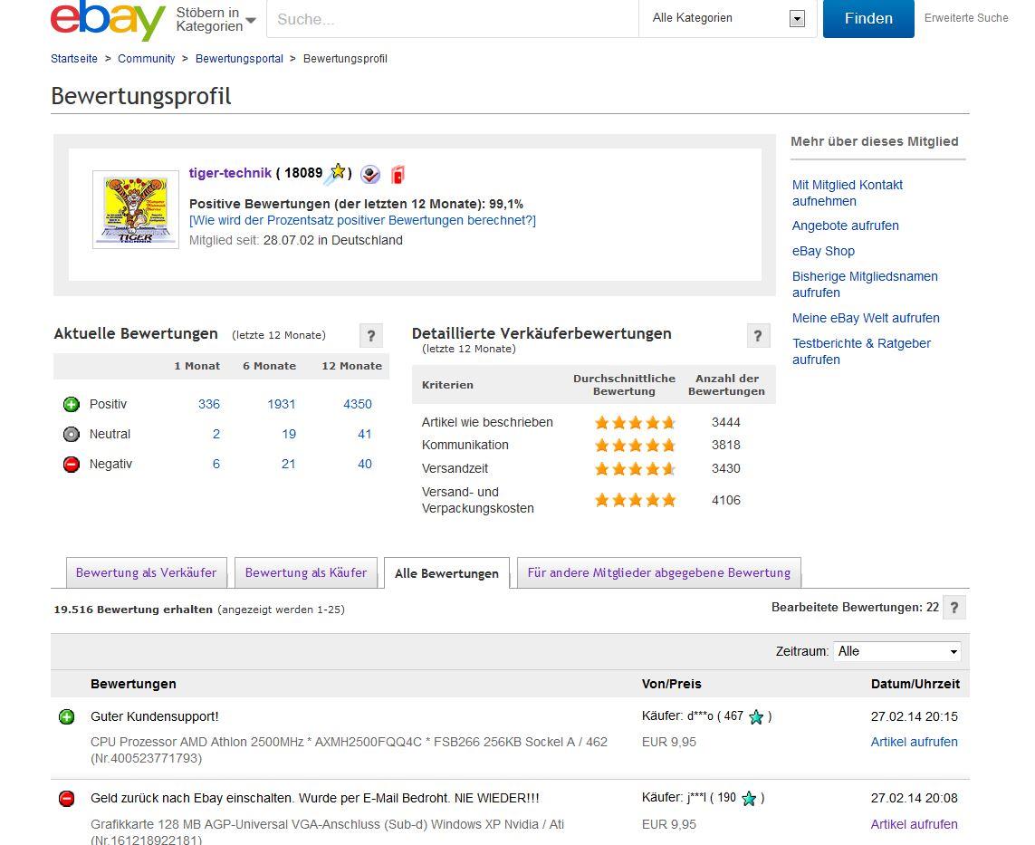 bewertung einer transaktion ebay community. Black Bedroom Furniture Sets. Home Design Ideas