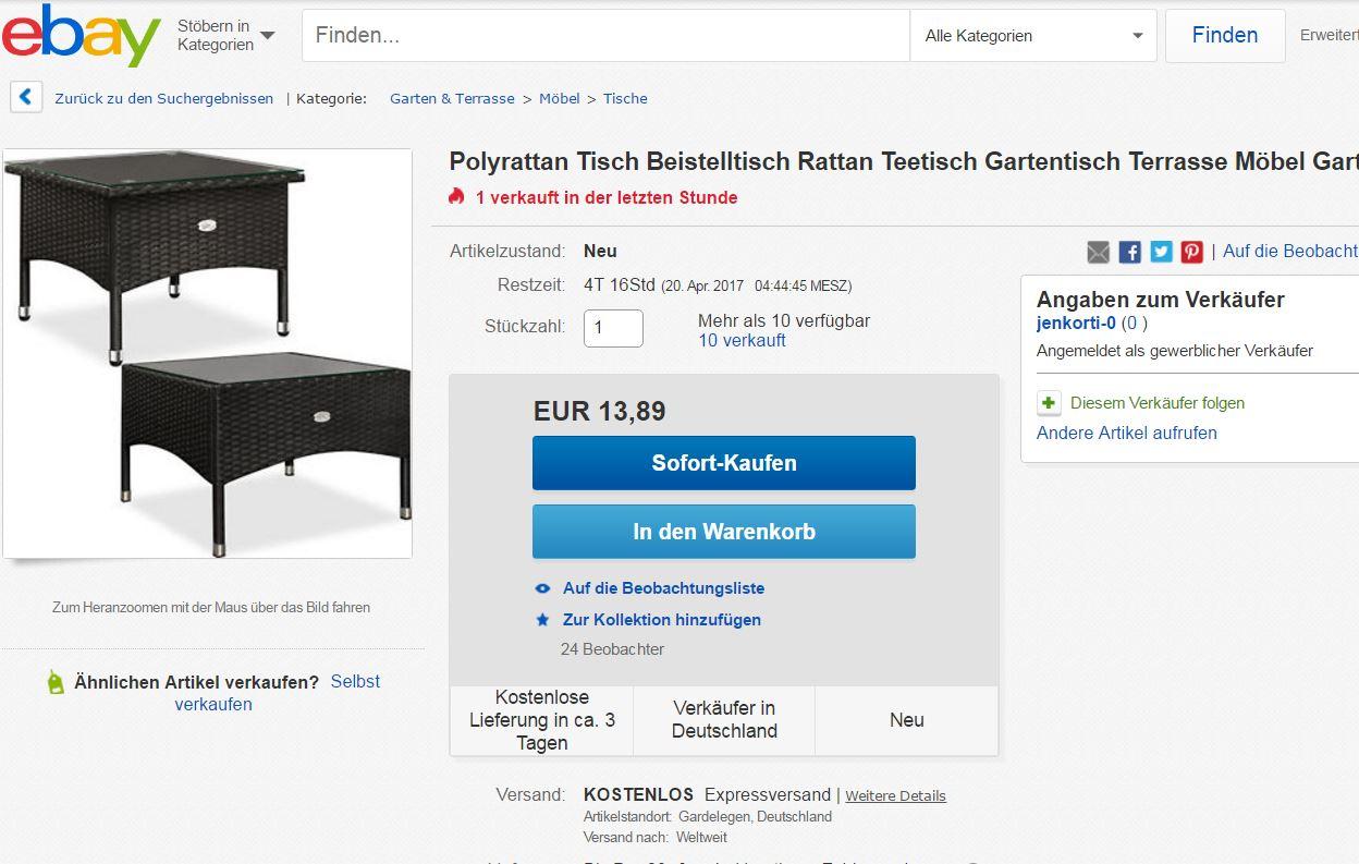 ein wochenend angebot f r schn ppchenj ger seite 5 ebay community. Black Bedroom Furniture Sets. Home Design Ideas