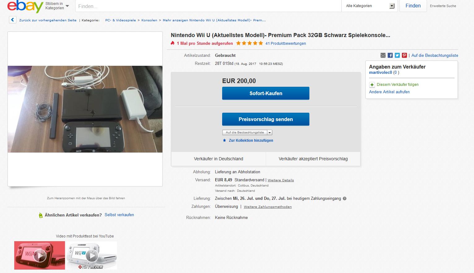 betrug mit fritzbox 7490 und nintendo wi seite 6 ebay community. Black Bedroom Furniture Sets. Home Design Ideas
