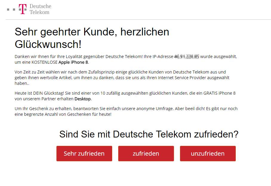 Gelost Bekomme Standig Aggressive Telekom Werbung Wenn I Ebay