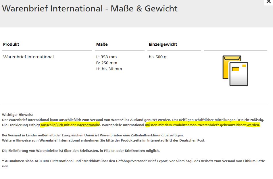 Wichtig Ab 112019 Warenversand In International Ebay Community