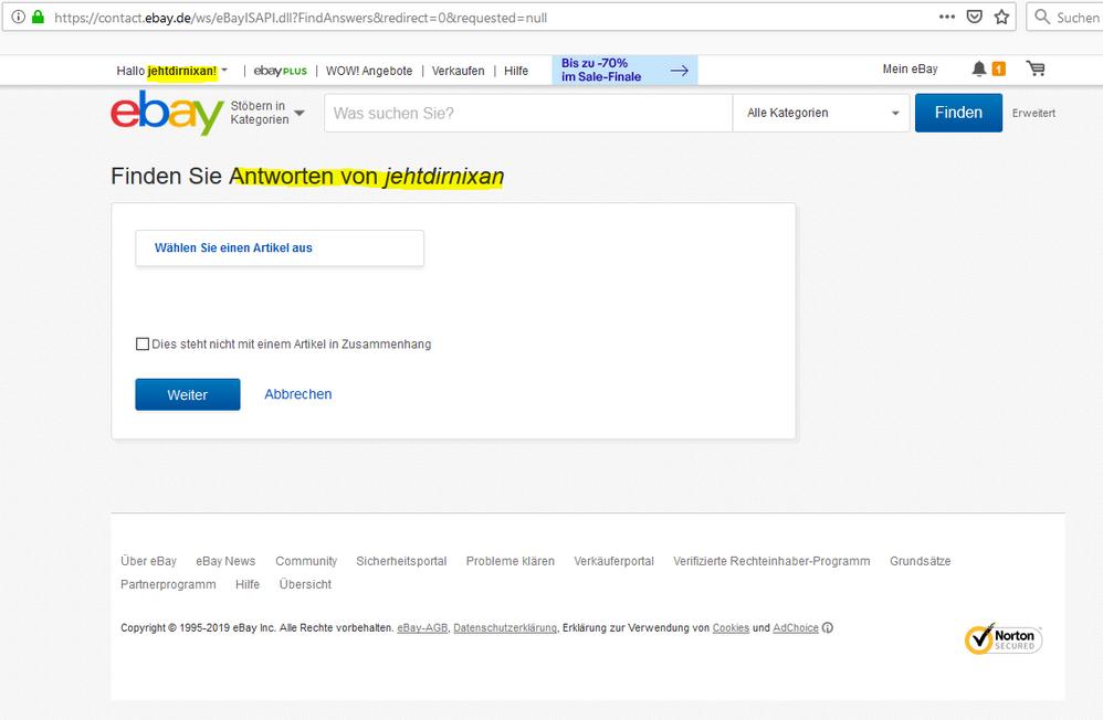 Artikelbeschreibung Wird In Chrome Nicht Richtig A Ebay Community